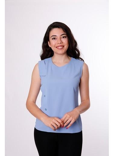 Clıche Bluz Mavi